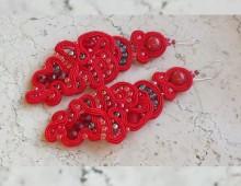 Kolczyki Red2